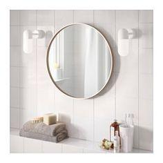 IKEA - SKOGSVÅG, ミラー, , 飛散防止フィルムを貼ってあります。万が一割れてもケガの心配はありません家中ほとんどの部屋で使えます。湿度の高い洗面所などでの使用にも適しています