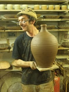 Hatchville Pottery: Great potter portrait from Doug Fitch