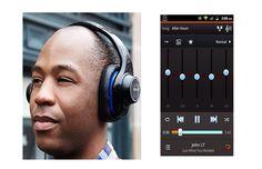 Headphones app control