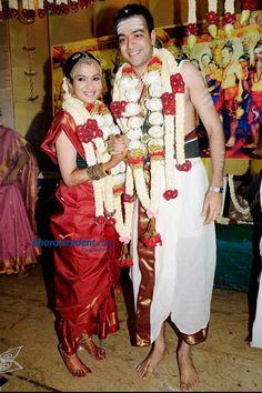 Traditional Tamil bride
