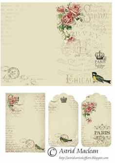 розы  розочки бирочки