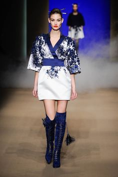 Elisabetta Franchi Kimono Dress