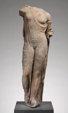 Marble statue of Aphrodite, the so-called Venus Genetrix  |  1st–2nd century A.D.; Imperial copy of Classical original  |  Adaptation of work attributed to Kallimachos  |  Roman copy of Greek original  |  Marble | The Metropolitan Museum of Art