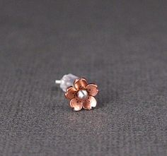 Cherry Blossom Tragus Earring 56mm  POINTED petals  by HapaGirls, $12.00