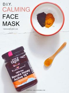 Calming & clearing DIY face mask recipe