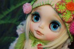Custom Blythe- Strawberry girl