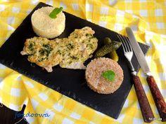 Moje Małe Czarowanie: Schab zapiekany z cebulką, musztardą i majonezem