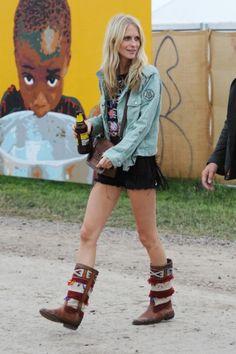 Poppy Delevingne - Glastonbury Festival Stijl 2013 - Street Chic - Fashion - VOGUE Nederland