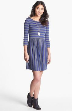 Add tights to your skater dress and embrace fall!
