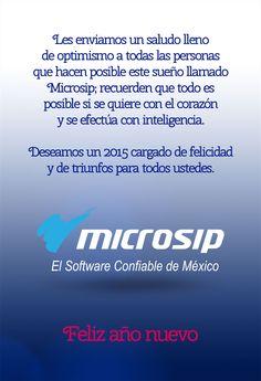 Microsip te desea feliz año nuevo.