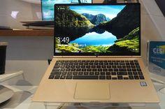 LG Gram 15 el portátil ultradelgado de 15 pulgadas con Windows 10 que rivaliza con los MacBook   Te ha seducido el color dorado del reciente MacBook de 12 pulgadas ? Pues bien ahora conocemos el LG Gram 15 el portátil ultradelgado de 15 pulgadas que rivaliza con los modelos de Apple pero que no se limita a copiar sino que añade muchas ideas propias.  Está claro que el tamaño de 15 pulgadas ya supone una diferencia clave pero el LG Gram 15 sigue siendo pequeño (la pantalla cuenta con marcos…