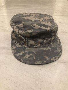 72b7cec5189 Military US Army ACU Patrol Cap Fatigue Hat NIR Universal Camo Propper  F5571  fashion