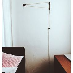 Our Cord Lamp in Black and Brass http://www.brendanravenhill.com/products/cord-lamp