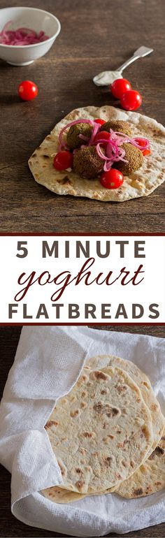 5 Minute Yoghurt Flatbreads - Recipes From A Pantry