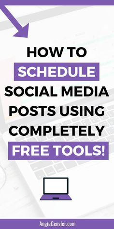 Social media doesn't have to be expensive to automate. Click through to learn how to schedule social media posts using completely free tools. Includes four step-by-step video tutorials that show you how to schedule content without spending a dime! Social Media Trends, Social Media Plattformen, Social Media Analytics, Social Media Marketing, Best Social Media Apps, Social Media Automation, Social Networks, E-mail Marketing, Digital Marketing Strategy