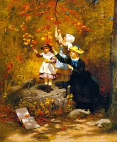 Gathering Autumn Leaves