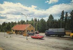 Ørje Tollstasjon  #history #svenkvia #norge #norway #car #ørje #tollstasjon