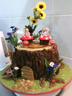 Sugarbloom Cupcakes - Perth WA: Fairy House Cake