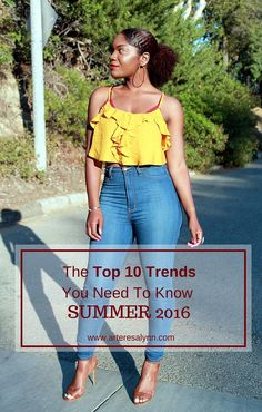 The Top 10 Trends You Need To Know This Summer http://www.arteresalynn.com/blog/the-top-10-trends-you-need-to-know-this-summer?utm_campaign=coschedule&utm_source=pinterest&utm_medium=Arteresa%20Lynn%20%28Personal%20Stylist%29&utm_content=The%20Top%2010%20Trends%20You%20Need%20To%20Know%20This%20Summer #summer #trends