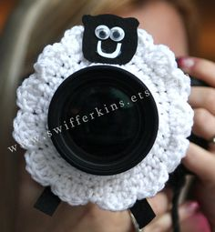 Check out this item in my Etsy shop https://www.etsy.com/listing/216561158/fluffy-sheep-lens-buddy-camera-critter