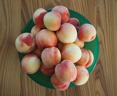 Eksotiske fersken fra hagen ble syltetøy på 1-2-3 Peach, Fruit, Food, Essen, Peaches, Meals, Yemek, Eten