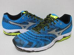 Mizuno Wave Sayonara Running Men's Sz.12 Dude Blue/Bolt  8KN-31402  #Mizuno #RunningShoes