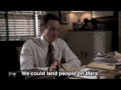The West Wing - Josh Lyman and men on Mars