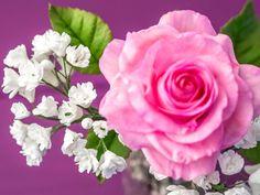 Schleierkraut aus Blütenpaste / Gum Paste Gypsophila Tutorial / Gum Past...