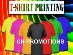 www.cn-promotions.co.uk/t-shirts.php - Nowadays, innovative and attractive personalized t shirt printing is used for brand building and making the people aware…