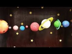 Easy Kids Projects – Hanging Solar System – Kids Learning - Decoration landscaping architectural and artistic designs & decoration videos Solar System Model Project, Solar System Projects For Kids, Space Solar System, Fun Projects For Kids, School Projects, Project Ideas, Science Experiments Kids, Science For Kids, Science Projects