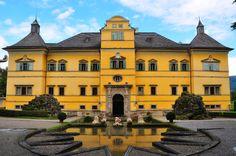 Hellbrunn Castle in Salzburg
