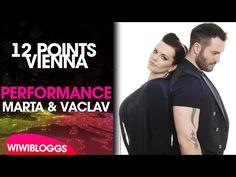Live: Marta Jandová and Václav Noid Bárta - Hope Never Dies @ Prague| wiwibloggs - YouTube Eurovision 2015