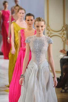 Christophe Josee Haute Couture S/S 2012. That front dress is amazing