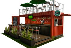 Box 01 – Restaurante / Bar Terraza Superior | Underbox