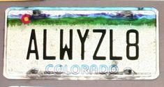 Funny/Bizarre License Plates (85 Pics)