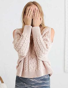 When it's cooler outside, we've got something to warm your heart. Add a whoa-so-soft sweater over a bralette or tank to layer on the love!