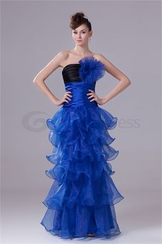 Wonderful Strapless Sleeveless Organza Silk-like Satin Pageant Dresses  http://www.GracefulDress.com/Wonderful-Strapless-Sleeveless-Organza-Silk-like-Satin-Pageant-Dresses-p20781.html