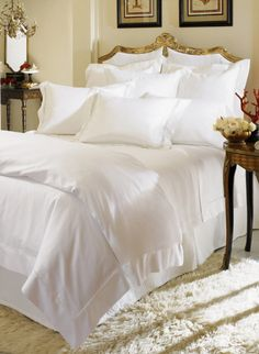 Giza 45 Sateen By Sferra Is A Collection Of Sateen Duvets, Sheets, And  Shams Created With Giza 45 Egyptian Cotton. This Is A Luxurious Collection.