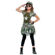 Army Brat Girl's Costume - OrientalTrading.com