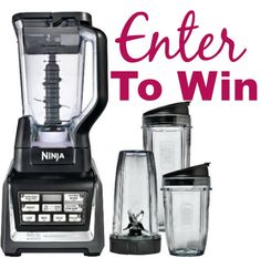 #Giveaway: 2 Readers Win Nutri Ninja|Ninja Blender DUO Auto-iQ! ($400 Total Value)