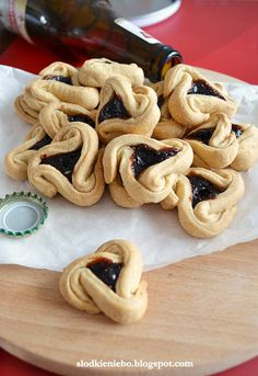 Cannoli, Truffles, Love Food, Cookie Recipes, Biscuits, Goodies, Food And Drink, Bread, Baking