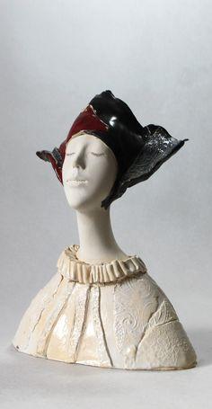 Made by ImagoArtDesign Face Planters, Horse Sculpture, Head & Shoulders, Medieval Art, Art Object, Ceramic Art, Paper Dolls, Sculpting, Fantasy Art