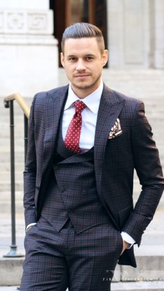 #gorgeous #suit #tie #fashion #gentlemen Fashion Styles, Men's Fashion, Tweed Men, Gentlemans Club, Steve Harvey, Classy Men, Suit Jacket, Formal, My Style