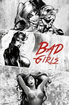 Dc Comics - Bad Girls Pôsteres na AllPosters.com.br