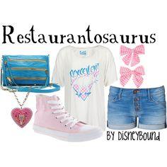 Restaurantosaurus, created by lalakay.polyvore.com