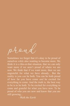 Be proud of yourself inspirational quotes, poetry, self love quotes - Soul Love Quotes, Motivacional Quotes, Life Quotes To Live By, Words Quotes, Wise Words, Irish Quotes, Poetry Quotes, Sayings, Earth Quotes