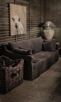 Sofa Bo Van Hoffz Met Rieten Mand… In verschillende kleuren verkrijgbaar