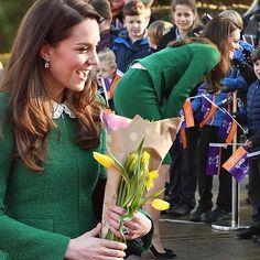 Duchess of Cambridge visits a children's hospice in Norfolk