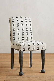 Cross-Stitched Dining Chair - anthropologie.com