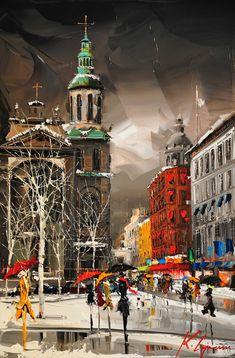 """""""Notre-Dame-de-Québec"""" by Kal Gajoum - 2013"""